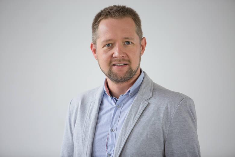 Łukasz Rut, wicedyrektor OPZL, kierownik oddziału OPZL w Nowej Soli,  dyrektor ds. promocji i rozwoju Parku Technologicznego Interior w Nowej Soli