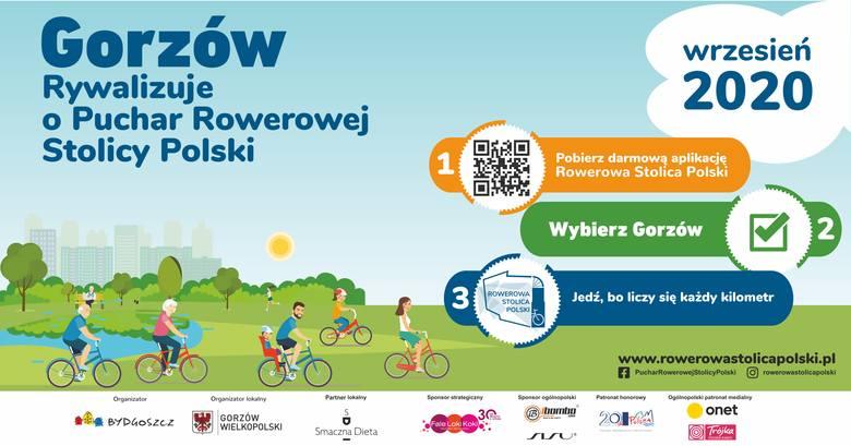 Rywalizacja o miano Rowerowej Stolicy Polski trwa do końca września.