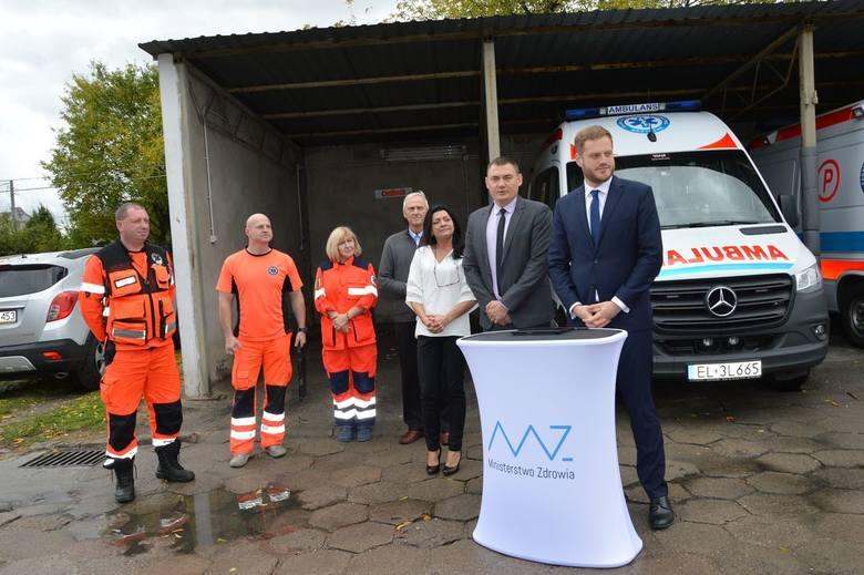 Skierniewickie pogotowie będzie miało nowy ambulans