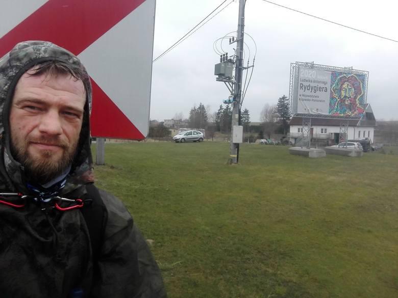 Judoka maszeruje z Gdańska do Zakopanego, żeby pomóc dzieciom z hospicjum [ZDJĘCIA]