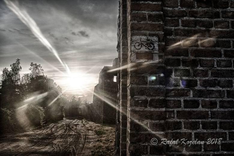 STRZELCE KRAJ. FOTOGRAFICZNY SPACER PO MIEŚCIE. Jednym z hitów Strzelec są średniowieczne mury obronne, przy których powstaje szlak spacerowy
