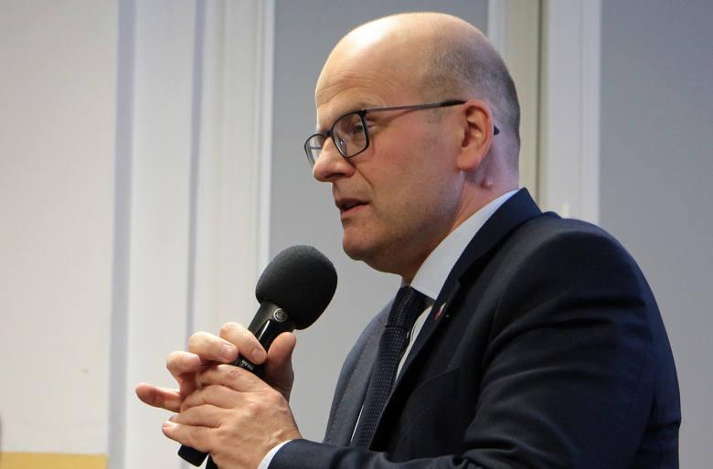 Maciej Glamowski, prezydent Grudziądza jest jedną z osób skierowanych przez sanepid na kwarantannę