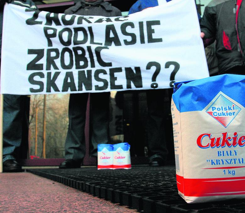 Cukrownia Łapy. Czy będzie reaktywacja? Mieczysław Baszko chce, by Sejm przeznaczył 100 mln zł na reaktywację cukrowni w Łapach