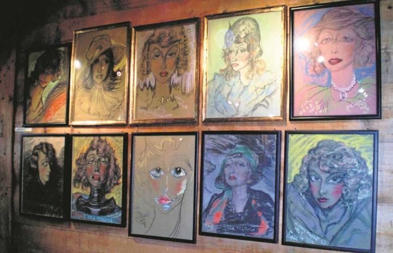 Największą kolekcję portretów Witkacego można podziwiać w Zakopanem (tu portrety Neny Stachurskiej w Willi Koliba).