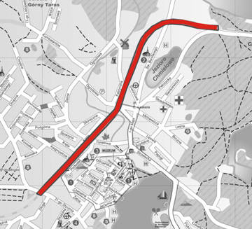 Niedługo ciężarówki znikną z centrum Barlinka