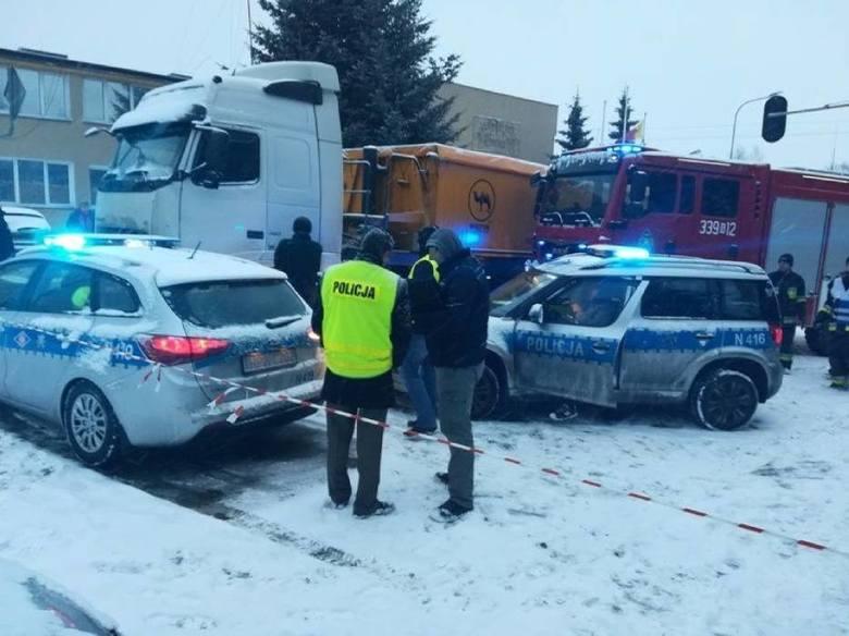 Śmiertelny wypadek w Trąbkach Wielkich 16.01.2018. Jest akt oskarżenia dla kierowcy, który potrącił 8-letnia dziewczynkę