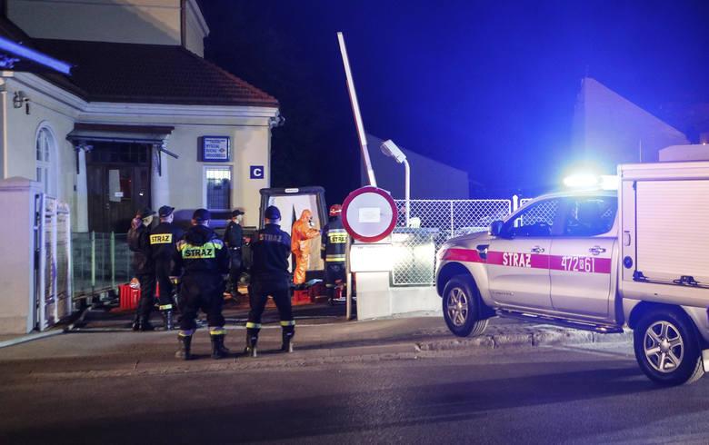 Tajemnicza przesyłka na komisariacie Policji przy ulicy Jagiellońskiej w Rzeszowie.