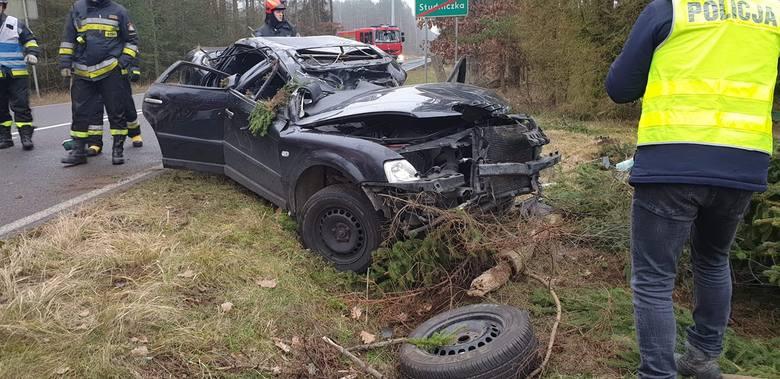 1 stycznia około godziny 8:19 strażacy z OSP w Czaplinku zostali zadysponowani do wypadku samochodowego na drodze wojewódzkiej nr 177 w kierunku Sośnicy.