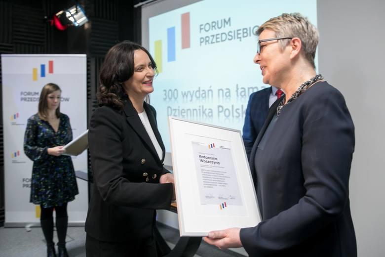 W środku Katarzyna Woszczyna, szefowa małopolskiego BCC
