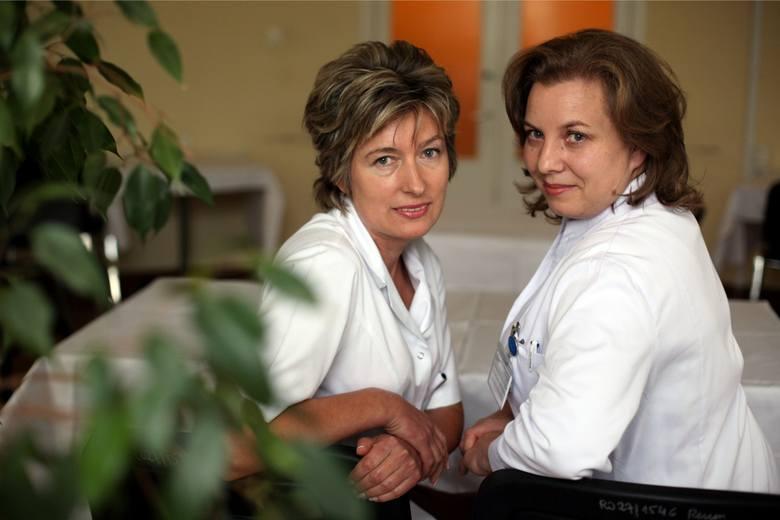 Józefa Gąsiorowska oraz Ewa Walocha