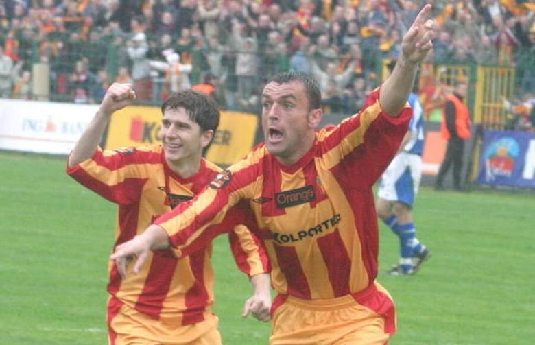 Korona Kielce w rozgrywkach centralnych Pucharu Polski zadebiutowała w 1974 roku, kiedy zmierzyła się z Hutnikiem Kraków (0:0, karne 4:5). Na gola w