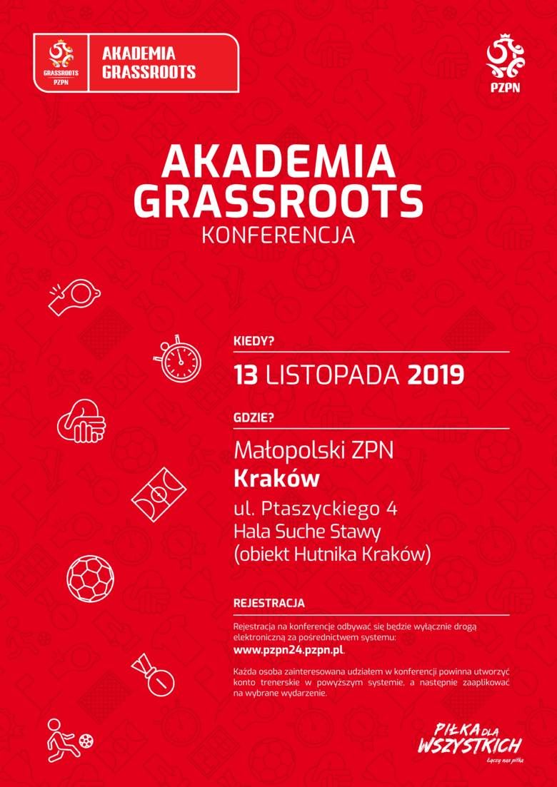 Akademia Grassroots - bezpłatna konferencja o szkoleniu dzieci i młodzieży już wkrótce w województwie małopolskim