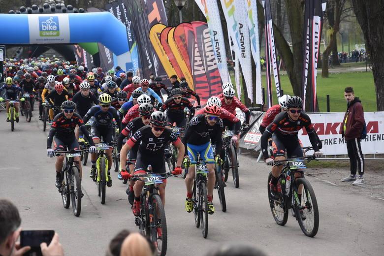 Bike Atelier MTB Maraton w Rybniku 2019: Ponad 1000 uczestników na trasie maratonu