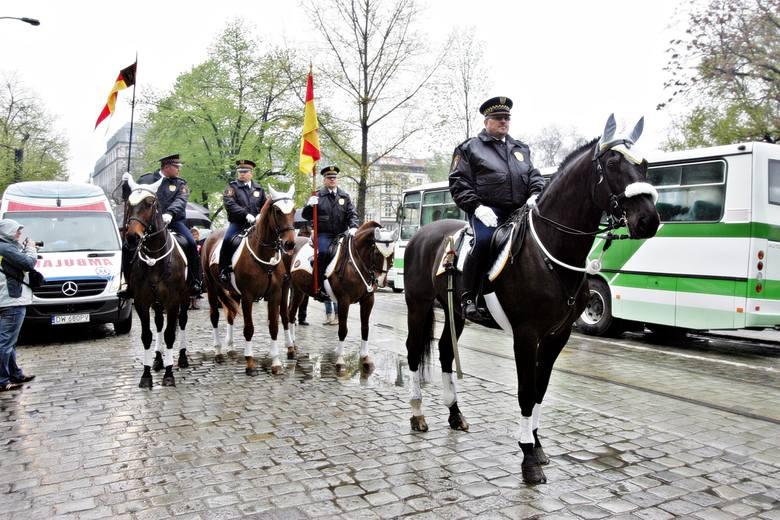 Patrol konny straży miejskiej, Wrocław