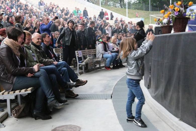 Złote Spinki - gala w opolskim amfiteatrze.