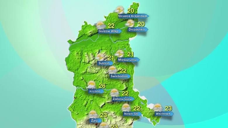 Lubuskie. Prognoza pogody na wtorek 15 września