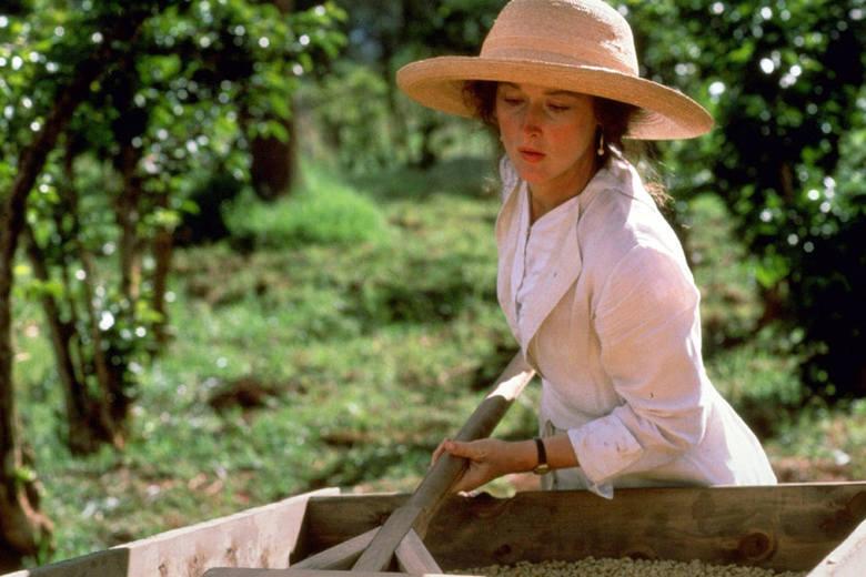 """Meryl Streep w filmie """"Pożegnanie z Afryką"""" (1985)"""