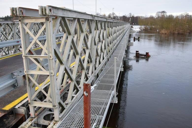Most zastępczy w Ostrołęce odebrany [ZDJĘCIA, WIDEO]