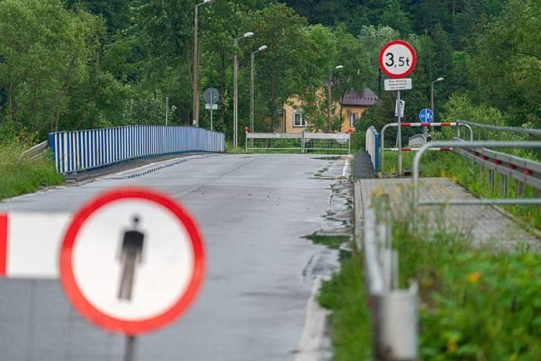 Od 22 czerwca most na rzece Kamienica w przebiegu ul. Kamiennej jest całkowicie zamknięty. Mieszkańcy nowosądeckiej Jamnicy i gm. Kamionka Wielka muszą