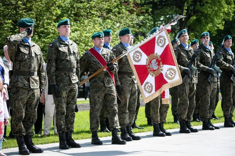 Uroczystości z okazji święta Konstytucji 3 Maja w Szczecinie [ZDJĘCIA]