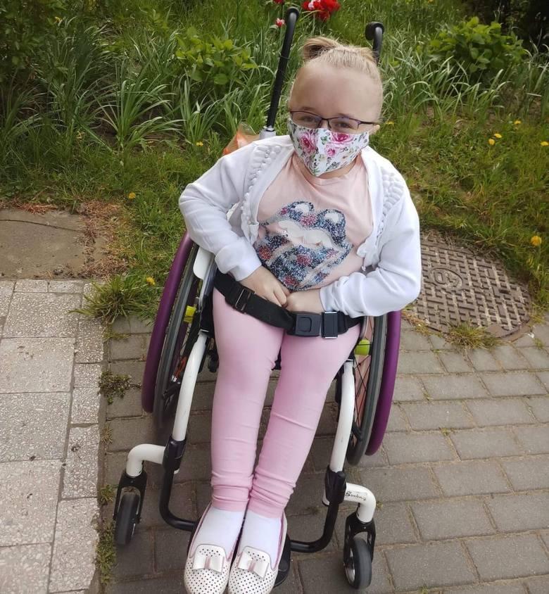 Wiktoria Klińska cierpi na wrodzoną łamliwość kości, rzadką chorobę genetyczną