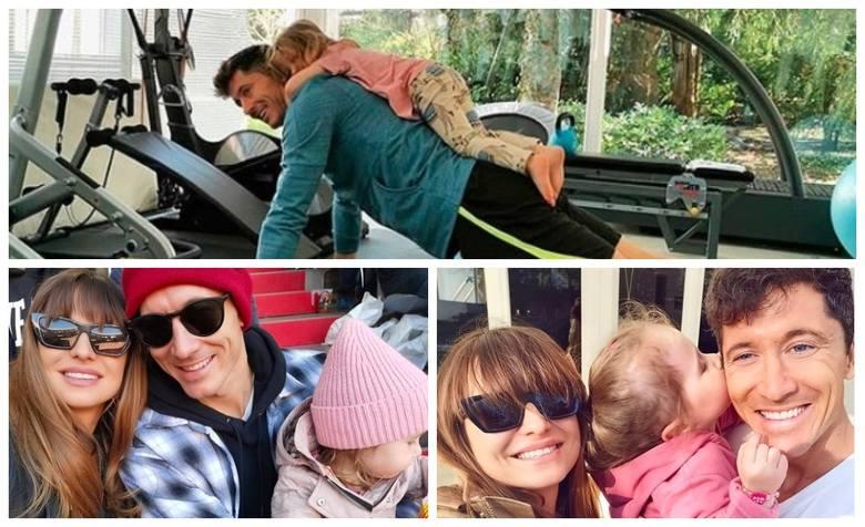 Anna i Robert Lewandowscy, wraz z córeczkami Klarą i Laurą, są dziś jedną z najbardziej rozpoznawalnych polskich rodzin. Aurze, którą roztaczają wokół
