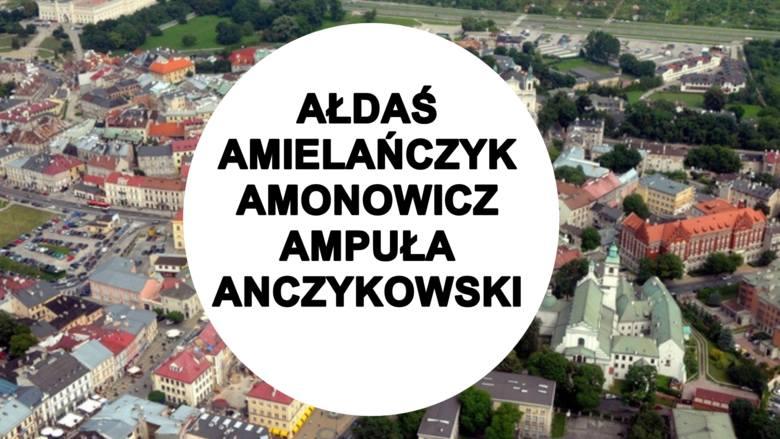 To najrzadsze nazwiska. Nosi je zaledwie kilku mieszkańców m.in. Lublina, Kraśnika czy Chełma. Sprawdź listę [3.05.2021]