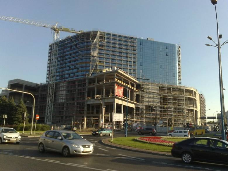 Zobacz jak powstaje City Center Ryszarda Podkulskiego [ZDJĘCIA]