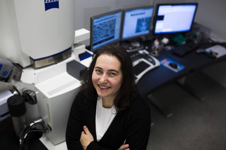 Dr Urszula Stachewicz z AGH.