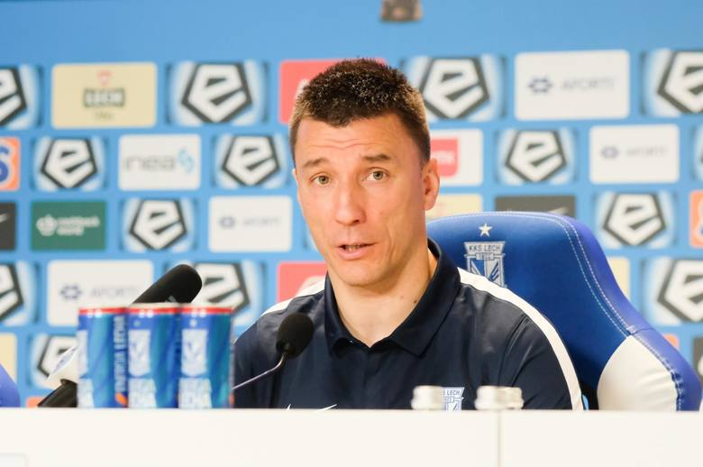 Ivan Djurdjević: Musimy razem przepchnąć Lecha Poznań do przodu