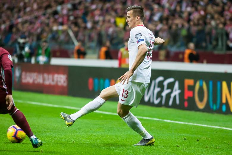 Po meczu z Łotwą Arkadiusz Reca ma na koncie cztery występy w reprezentacji Polski.