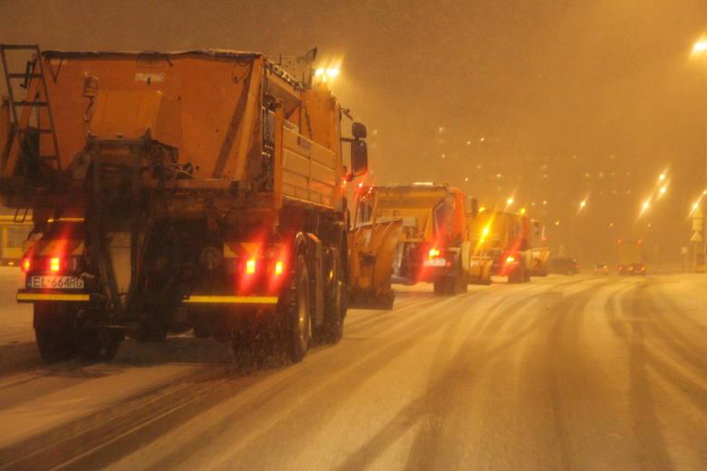 Od 10 grudnia, zimowy sprzęt wyjeżdżał tylko pięć razy na ulice Łodzi