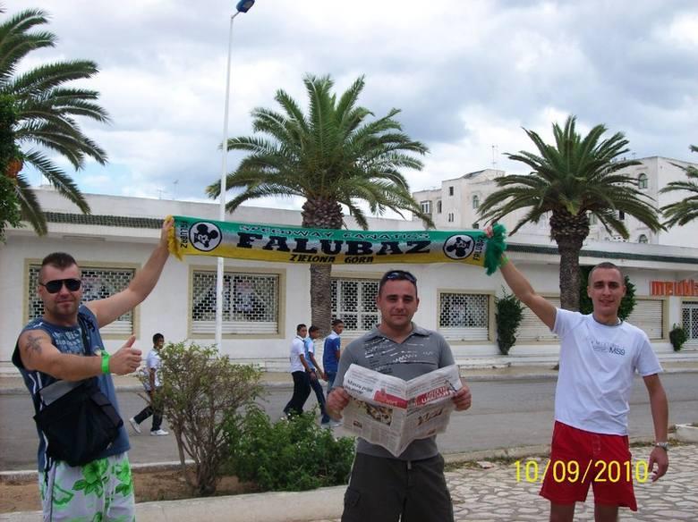 Fani Falubazu w Tunezji