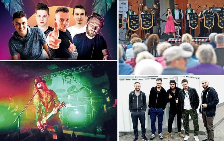 Koncert rockowy, impreza klubowa, piknik rodzinny, spotkanie z innymi kulturami - imprezy o tak różnych charakterach organizowane są w ten weekend w