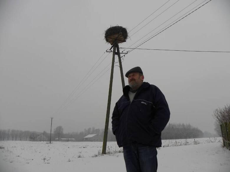 Bocianica w Józefowie po raz pierwszy zimowała w 2005 roku. Musiała tutaj zostać z uwagi na uraz skrzydła. Pierwszą zimę spędziła w zagrodzie sołtysa