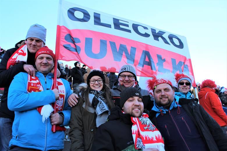 Raw Air 2019. Podlascy kibice dopingują polskich skoczków w Oslo (zdjęcia)