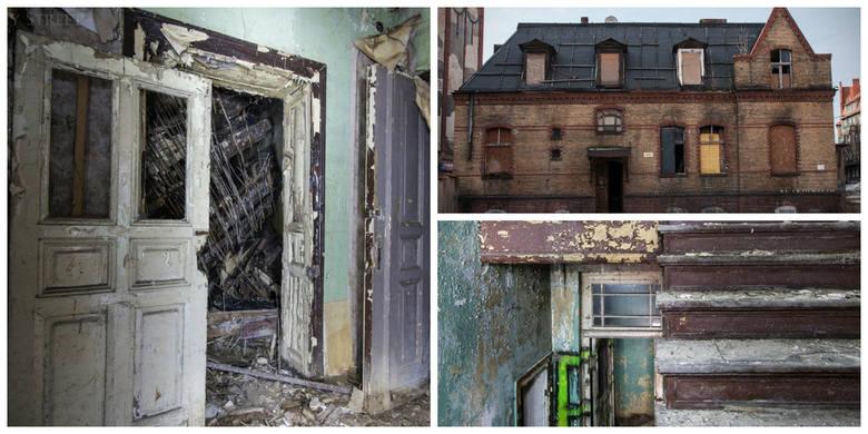 Sołtysówka, czyli dawna siedziba ostatniego sołtysa Łazarza od lat szpeci ul. Głogowską. Różne plany co do przyszłości budynku jak dotąd nie wypaliły.