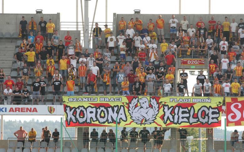 Ponad 850 kibiców będzie dopingować Koronę w niedzielnym meczu z Górnikiem Zabrze.