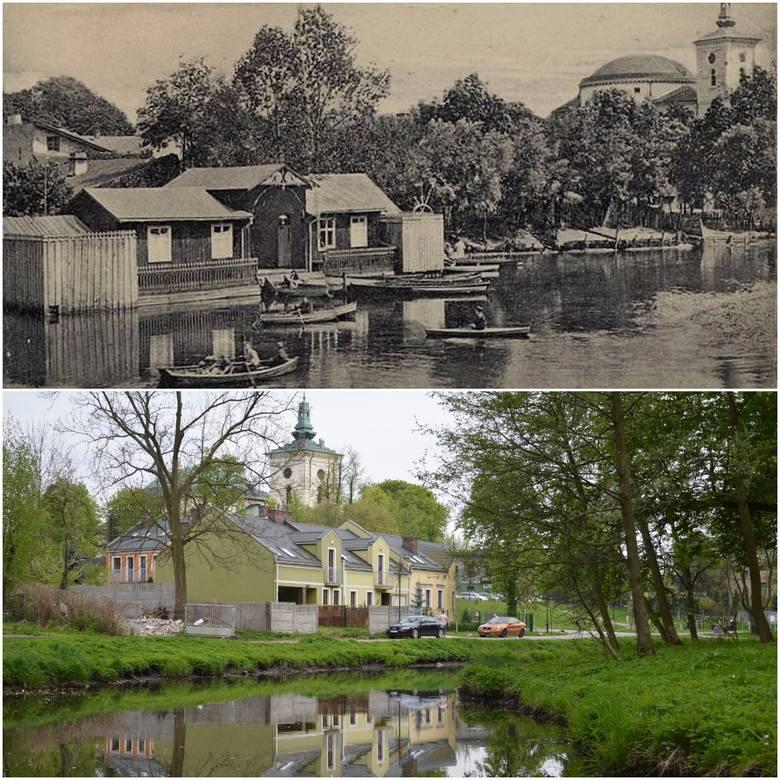Przed 100 laty na Łupi można było zobaczyć łódki.