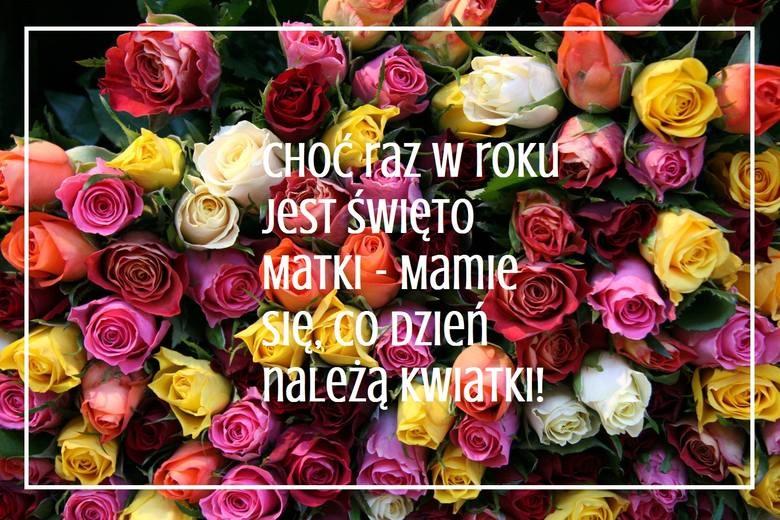 Piękne życzenia Na Dzień Matki 2019 Wierszyki Na Facebooka