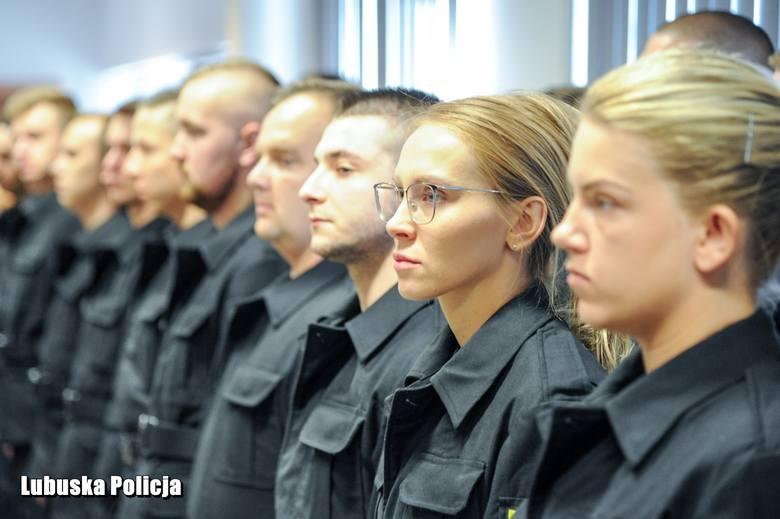 Szeregi lubuskiej policji zasilili kolejni stróże prawa. 25 funkcjonariuszy złożyło ślubowanie na sztandar Komendy Wojewódzkiej Policji w Gorzowie Wlkp.W