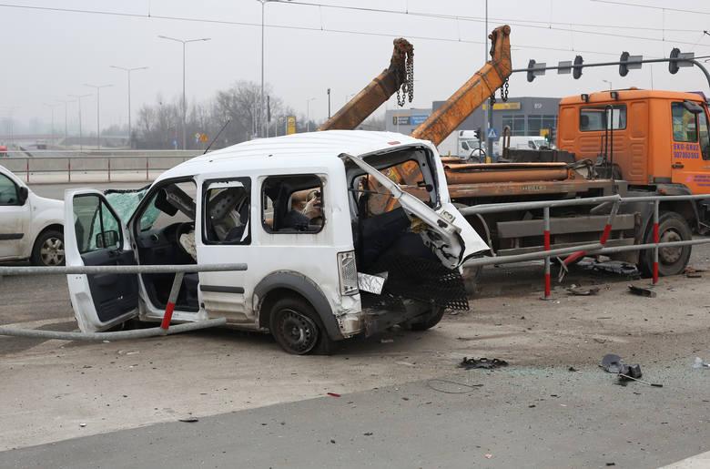 Wypadek na ul. Pabianickiej