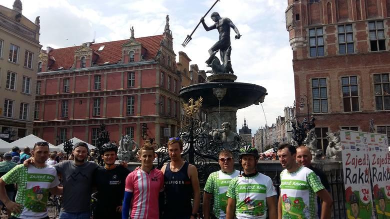 Piotr Czarnecki wyjechał z Rzeszowa i dojechał już do Gdańska. Ma za sobą ponad 643 km
