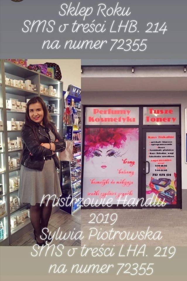 Sklep Roku<br /> <strong>Elsylvio i Perfumeria Sylvia</strong> z Rawy Mazowieckiej. Sklep zdobył 45 głosów i zajął 15. miejsce w rankingu wojewódzkim