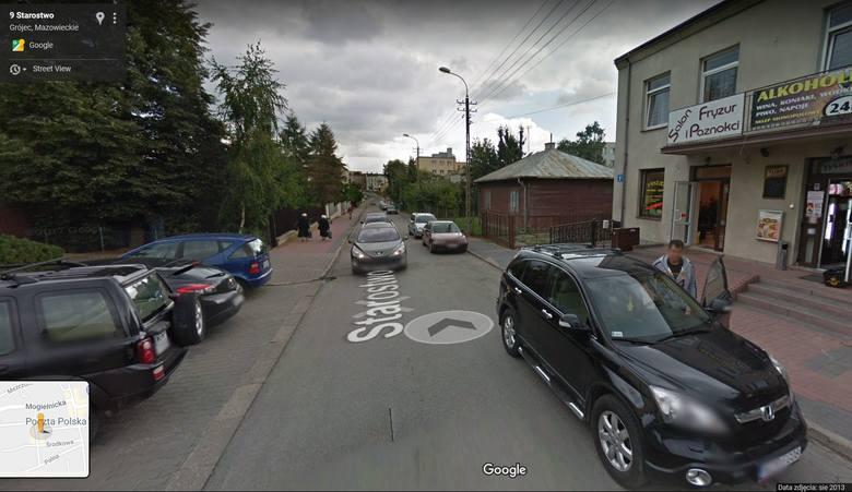Mamy cię! Upolowani przez Google Street w Grójcu [ZDJĘCIA]