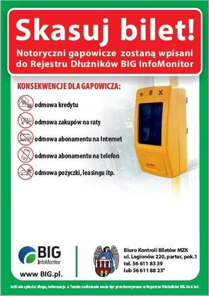 Takie informacje pojawią się w pojazdach komunikacji miejskiej w Toruniu
