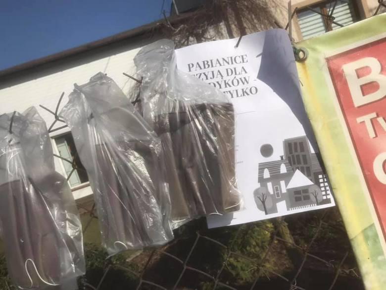 Pabianice Koronawirus. Kolejna akcja mieszkańców - tym razem dla sąsiadów