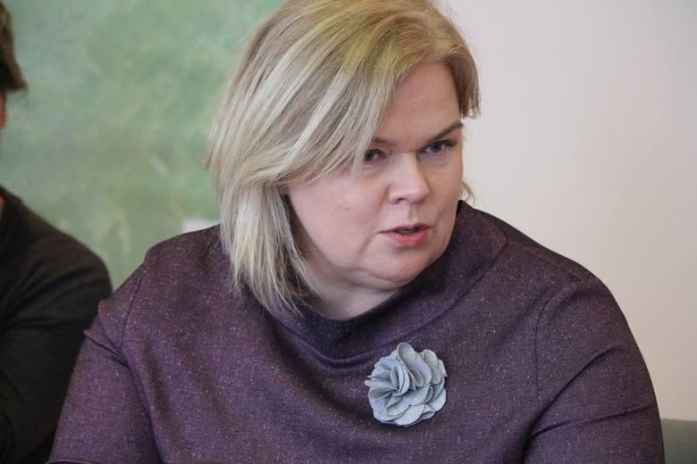 Małgorzata Walkowska, zastępca dyrektora departamentu infrastruktury społecznej urzędu marszałkowskiego w Zielonej Górze.