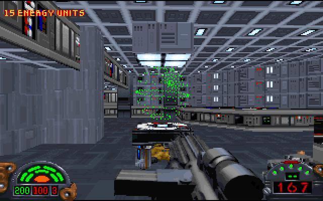 Kolejna legenda. Dark Forces to pierwszoosobowa strzelanina przygotowana przez LucasArts, w której wcielamy się w najemnika Kyle'a Katarna, którego zadaniem