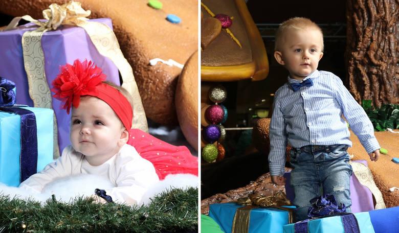 Oto nasze świąteczne gwiazdeczki - Maja Lulkowska i Kornel Michta